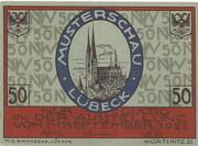 50 Pfennig (Lübeck; Nordische Woche) – obverse