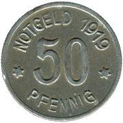 50 Pfennig - Lüdenscheid -  obverse