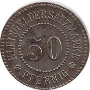 50 Pfennig - Lüneburg – reverse