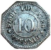 10 Pfennig - Lüneburg – obverse