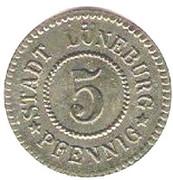 5 Pfennig - Lüneburg – obverse