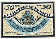 50 Pfennig (Spar- und Leihkasse) – obverse