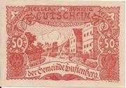 50 Heller (Luftenberg) -  obverse