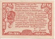 50 Heller (Luftenberg) -  reverse