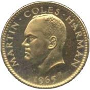 ½ Puffin - Martin Coles Harman – obverse