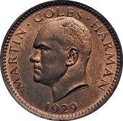 ½ Puffin - Martin Coles Harman -  obverse
