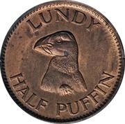 ½ Puffin - Martin Coles Harman -  reverse