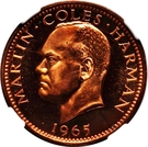 1 Puffin - Martin Coles Harman – obverse