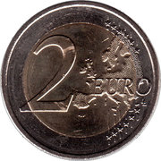 2 Euro - Henri I (30 Years of EU Flag) -  reverse