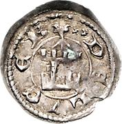 Denier - Henri VI (Floret) – reverse
