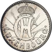 2 Francs - Charlotte (Essai - silver) – obverse