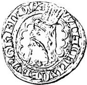 1/3 Gros - Wenceslaus I – obverse