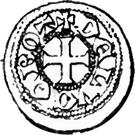 Denier - Henri VI – reverse