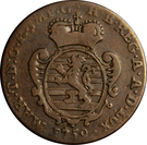 2 Liards - Maria Theresa – obverse