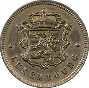 25 Centimes (Copper-nickel) -  obverse
