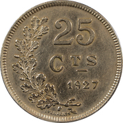 25 Centimes (Copper-nickel) -  reverse