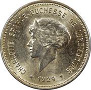 5 Francs - Charlotte – obverse