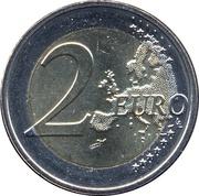 2 Euro - Henri I (Volunteer Army) -  reverse