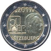 2 Euro - Henri I (Volunteer Army) -  obverse