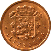 25 Centimes - Charlotte (Bronze) -  obverse