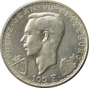 100 Francs - Charlotte (John the Blind) – obverse