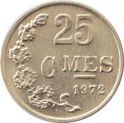 25 Centimes (Aluminium) -  reverse