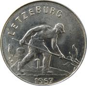 1 Franc - Charlotte (small Type) -  obverse