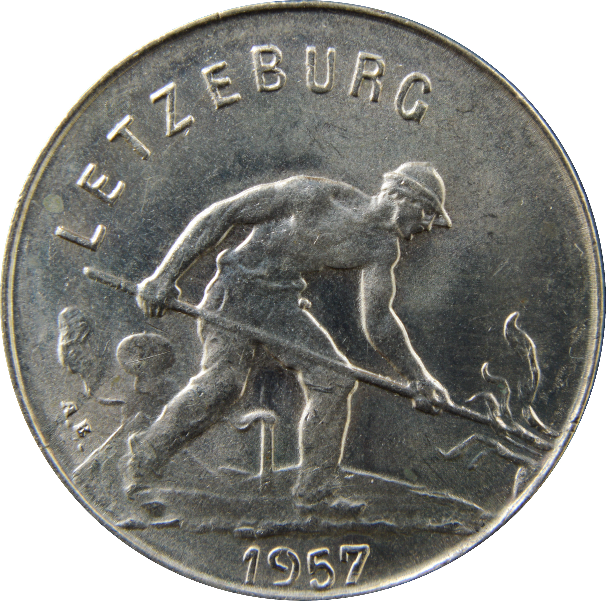 1952 Luxembourg 1 Franc 1 Coin Only 4 Available Circulated