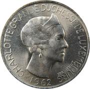 5 Francs - Charlotte -  obverse
