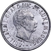 1 Franc - Guillaume III (Essai) -  obverse