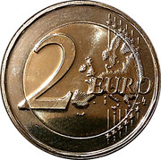 2 Euro - Henri I (William III) -  reverse