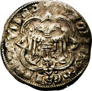 Demi-Gros - Henri VII -  reverse