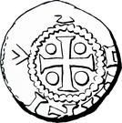 Denier - Henri II – obverse