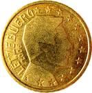 50 Euro Cent - Henri I (1st map) – obverse