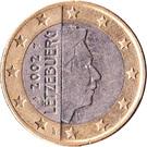 1 Euro - Henri I (1st map) – obverse