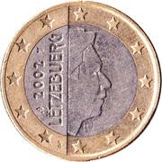 1 Euro - Henri I (1st map) -  obverse