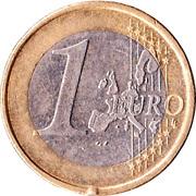 1 Euro - Henri I (1st map) -  reverse