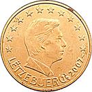 1 Euro Cent - Henri I – obverse