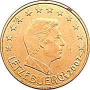 1 Euro Cent - Henri I -  obverse