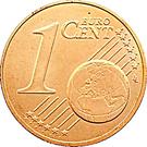 1 Euro Cent - Henri I – reverse