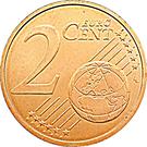 2 Euro Cent - Henri I – reverse
