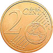 2 Euro Cent - Henri I -  reverse