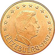 5 Euro Cent - Henri I -  obverse