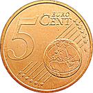 5 Euro Cent - Henri I – reverse