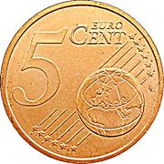 5 Euro Cent - Henri I -  reverse