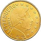 10 Euro Cent - Henri I (1st map) – obverse