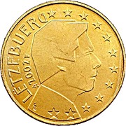 10 Euro Cent - Henri I (1st map) -  obverse