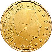 20 Euro Cent - Henri I (1st map) -  obverse