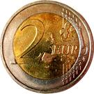 2 Euro - Henri I (2nd map) – reverse