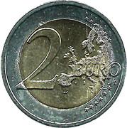 2 Euro - Henri I (Golden Jubilee) -  reverse